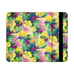Tropical Flowers And Leaves Background Samsung Galaxy Tab Pro 8.4  Flip Case by TastefulDesigns