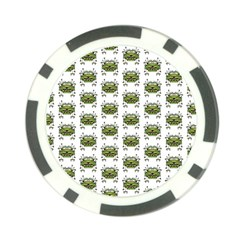 Funny Robot Cartoon Poker Chip Card Guards by dflcprints