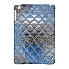 Mirrored Glass Tile Urban Industrial Apple Ipad Mini Hardshell Case (compatible With Smart Cover) by CrypticFragmentsDesign