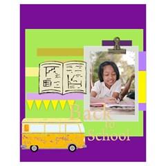 Back To School By School   Drawstring Pouch (xl)   7blbdynb6jwp   Www Artscow Com Back