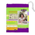 back to school - Drawstring Pouch (XXL)