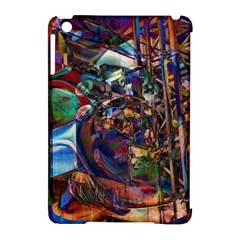 Las Vegas Nevada Ghosts Apple Ipad Mini Hardshell Case (compatible With Smart Cover) by CrypticFragmentsDesign