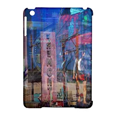 Las Vegas Strip Walking Tour Apple Ipad Mini Hardshell Case (compatible With Smart Cover) by CrypticFragmentsDesign