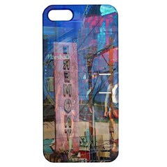 Las Vegas Strip Walking Tour Apple Iphone 5 Hardshell Case With Stand by CrypticFragmentsDesign