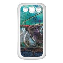 Vegas The Deep End  Samsung Galaxy S3 Back Case (white) by CrypticFragmentsColors