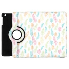 Whimsical Feather Pattern,Fresh Colors, Apple iPad Mini Flip 360 Case by Zandiepants