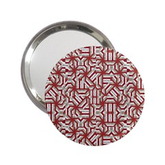 Interlace Tribal Print 2 25  Handbag Mirrors by dflcprints