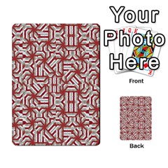 Interlace Tribal Print Multi Purpose Cards (rectangle)  by dflcprints