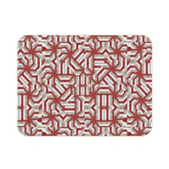 Interlace Tribal Print Double Sided Flano Blanket (mini)  by dflcprints