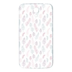 Whimsical Feather Pattern, Soft Colors, Samsung Galaxy Mega I9200 Hardshell Back Case by Zandiepants