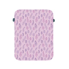 Whimsical Feather Pattern, Pink & Purple, Apple Ipad 2/3/4 Protective Soft Case by Zandiepants