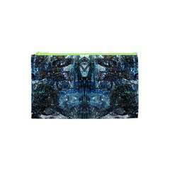 Lost In The Mirror  Cosmetic Bag (XS) by CrypticFragmentsDesign