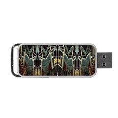 Urban Industrial Rust Grunge Portable USB Flash (Two Sides) by CrypticFragmentsDesign