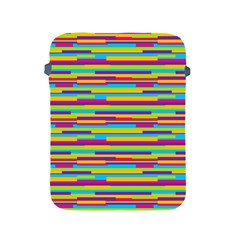 Colorful Stripes Background Apple Ipad 2/3/4 Protective Soft Cases by TastefulDesigns