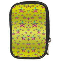 Flower Power Stars Compact Camera Cases by pepitasart