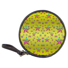 Flower Power Stars Classic 20 Cd Wallets by pepitasart