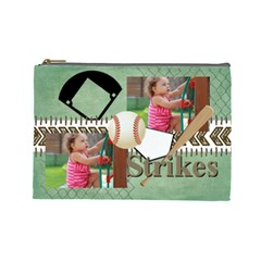 Sport Theme By Sport   Cosmetic Bag (large)   Td0rfbdxdnxf   Www Artscow Com Front