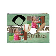 Sport Theme By Sport   Cosmetic Bag (large)   Td0rfbdxdnxf   Www Artscow Com Back