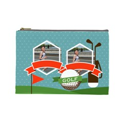 Sport Theme By Sport   Cosmetic Bag (large)   V0ajvwosi69y   Www Artscow Com Front