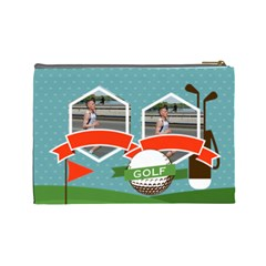 Sport Theme By Sport   Cosmetic Bag (large)   V0ajvwosi69y   Www Artscow Com Back