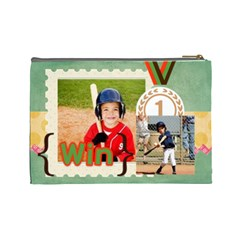 Sport Theme By Sport   Cosmetic Bag (large)   Fsgmz2cxq6d4   Www Artscow Com Back