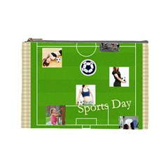 Sport Theme By Sport   Cosmetic Bag (large)   Xodg7xe3hmq5   Www Artscow Com Front