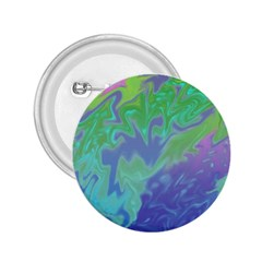 Green Blue Pink Color Splash 2.25  Buttons by BrightVibesDesign