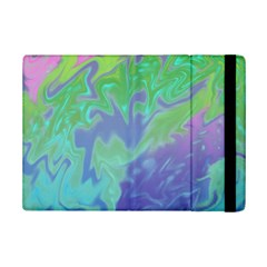 Green Blue Pink Color Splash Ipad Mini 2 Flip Cases by BrightVibesDesign