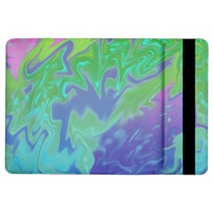 Green Blue Pink Color Splash Ipad Air 2 Flip by BrightVibesDesign