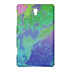 Green Blue Pink Color Splash Samsung Galaxy Tab S (8 4 ) Hardshell Case  by BrightVibesDesign