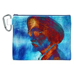 Wealthy Powerful Men Canvas Cosmetic Bag (XXL)  by CrypticFragmentsDesign