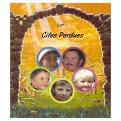 Cités Perdues Perso By Ange Lefrère   Drawstring Pouch (small)   Bzijf0jc8h6c   Www Artscow Com Front