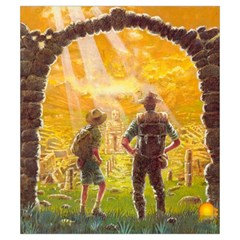 Cités Perdues Perso By Ange Lefrère   Drawstring Pouch (small)   Bzijf0jc8h6c   Www Artscow Com Back