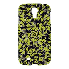 Modern Abstract Interlace Samsung Galaxy S4 I9500/i9505 Hardshell Case by dflcprints