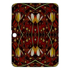 Fantasy Flowers And Leather In A World Of Harmony Samsung Galaxy Tab 3 (10 1 ) P5200 Hardshell Case  by pepitasart