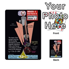 High Frontier I By Carles Ryhr   Multi Purpose Cards (rectangle)   4nrv52k496yu   Www Artscow Com Front 53