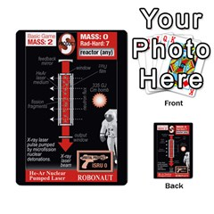 High Frontier I By Carles Ryhr   Multi Purpose Cards (rectangle)   4nrv52k496yu   Www Artscow Com Back 3