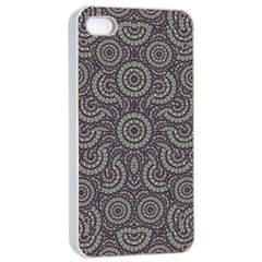 Geometric Boho Print Apple Iphone 4/4s Seamless Case (white) by dflcprints