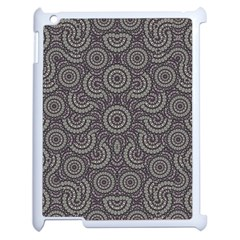 Geometric Boho Print Apple Ipad 2 Case (white) by dflcprints