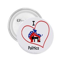 Iheartpolitics Smres Sq V 600x6002 2.25  Buttons by FundaKindaDay