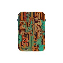 Brown Green Texture                              apple Ipad Mini Protective Soft Case by LalyLauraFLM
