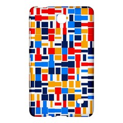 Colorful Shapes                                  			samsung Galaxy Tab 4 (7 ) Hardshell Case by LalyLauraFLM