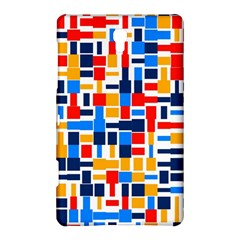 Colorful Shapes                                  samsung Galaxy Tab S (8 4 ) Hardshell Case by LalyLauraFLM