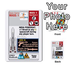High Frontier Ii By Carles Ryhr   Multi Purpose Cards (rectangle)   Zejnb1slxmy0   Www Artscow Com Back 53