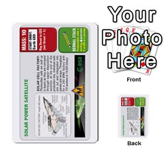 High Frontier Ii By Carles Ryhr   Multi Purpose Cards (rectangle)   Zejnb1slxmy0   Www Artscow Com Front 9
