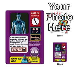 High Frontier Ii By Carles Ryhr   Multi Purpose Cards (rectangle)   Zejnb1slxmy0   Www Artscow Com Back 11