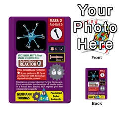 High Frontier Ii By Carles Ryhr   Multi Purpose Cards (rectangle)   Zejnb1slxmy0   Www Artscow Com Back 13