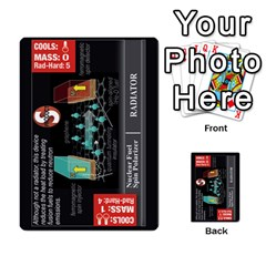 High Frontier Ii By Carles Ryhr   Multi Purpose Cards (rectangle)   Zejnb1slxmy0   Www Artscow Com Back 2