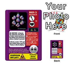High Frontier Ii By Carles Ryhr   Multi Purpose Cards (rectangle)   Zejnb1slxmy0   Www Artscow Com Back 21