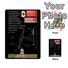 High Frontier Ii By Carles Ryhr   Multi Purpose Cards (rectangle)   Zejnb1slxmy0   Www Artscow Com Front 27